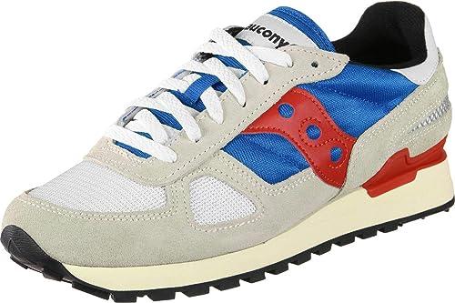 SAUCONY Zapatos Hombre Zapatillas Bajas S70424-8 Shadow Original Vintage Talla 40 Gris/Azul