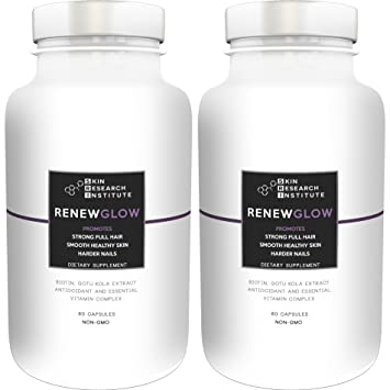 Renewglow - Anti Aging Supplement Fights Against Biotin Deficiency, Free  Radicals and Prevents Oxidation to