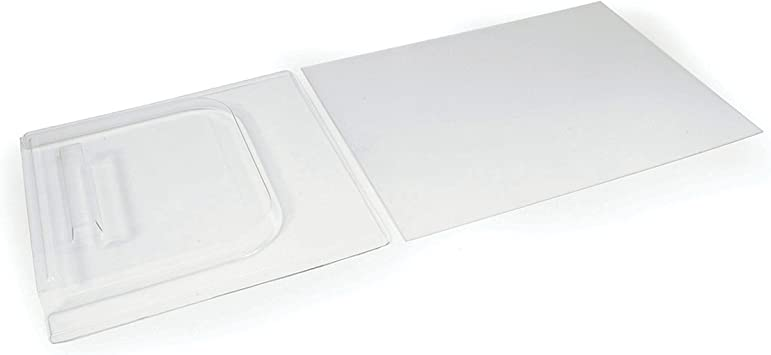 """12/"""" White Screen Door Slide Stop Durable Replacement for All RVs"""