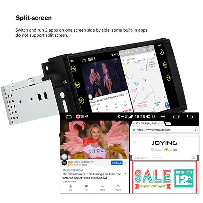 Android Car Stereo JOYING 7