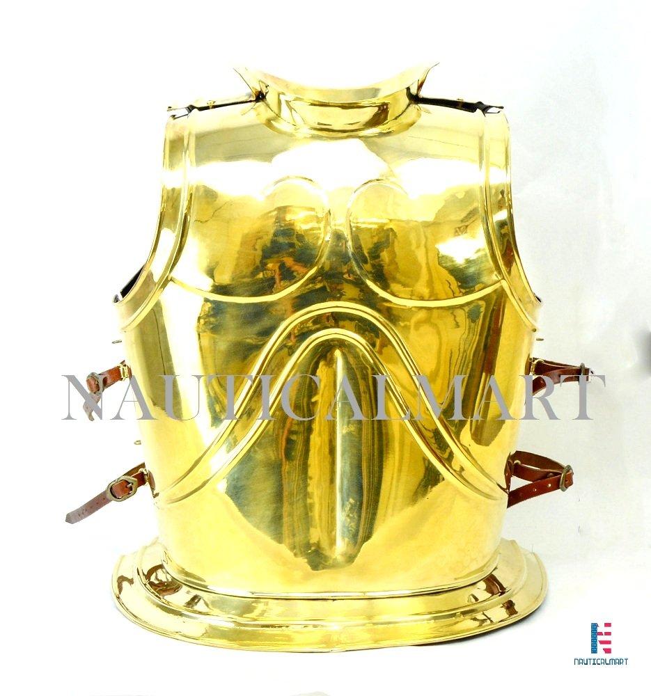 Greek Bell Muscle Armor Brass Cuirass Larp SCA reenactment by NAUTICALMART