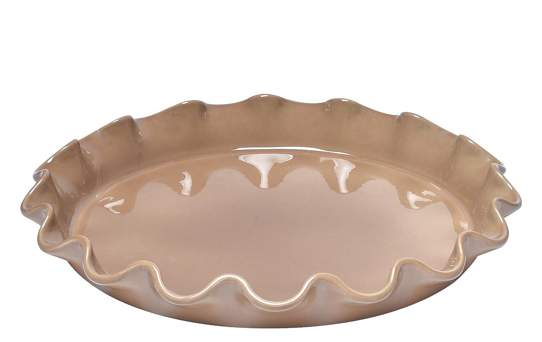 Emile Henry Corolle Tortenplatte, blütenförmig, Keramik, 32,5 x 32,5 x 4,5 cm buchenholz blütenförmig EH966087