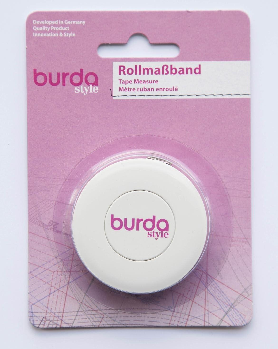 Art.Nr.: 60 Burda Style N/ähzubeh/ör: Rollma/ßband , wei/ß Farbe