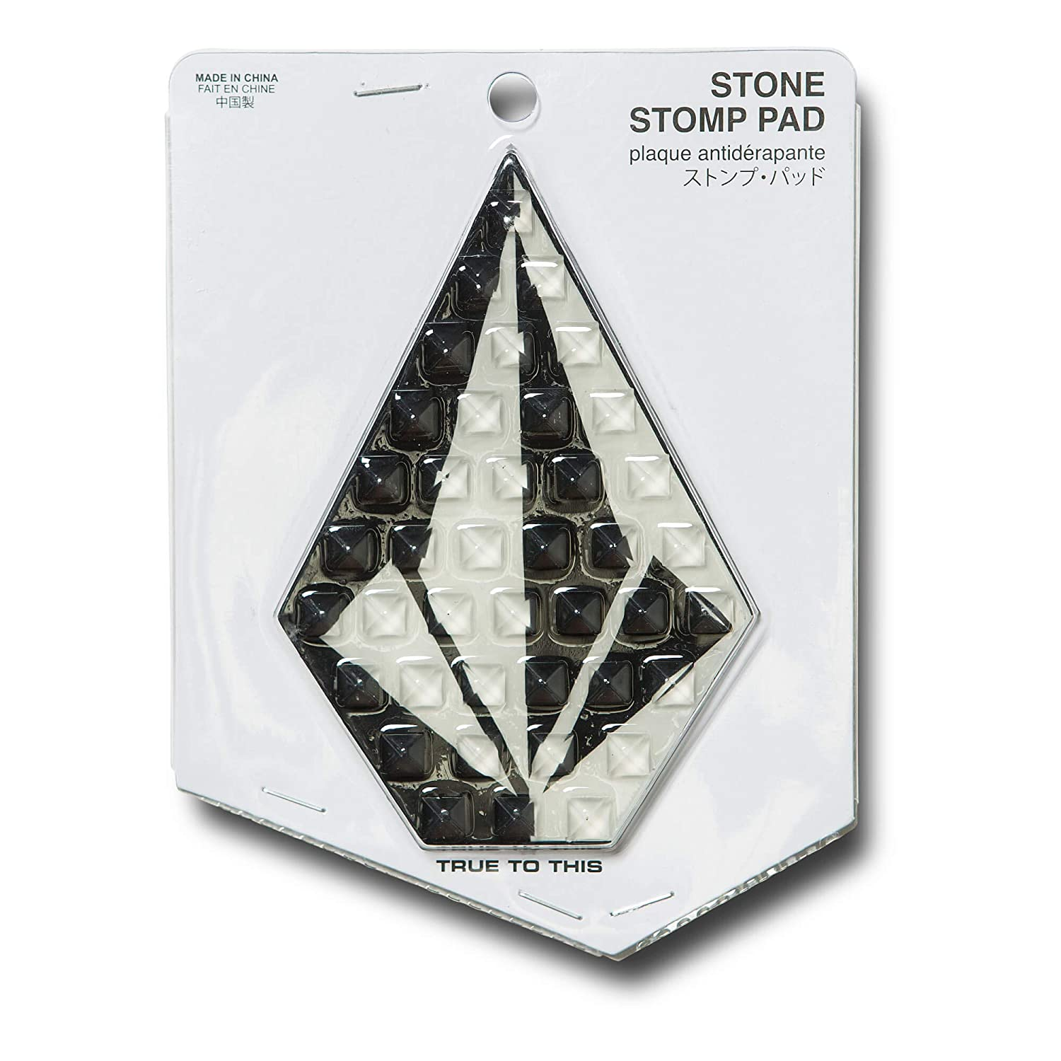 Volcom Boys' Big Stone Pack of 6 Snow Stomp Pads Black One Size Fits All L6751900