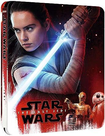 Amazon Com Star Wars The Last Jedi 4k Region Free Limited Edition Steelbook 3 Disc Set 4k 2x 2d Blu Ray Zavvi Exclusive Movies Tv