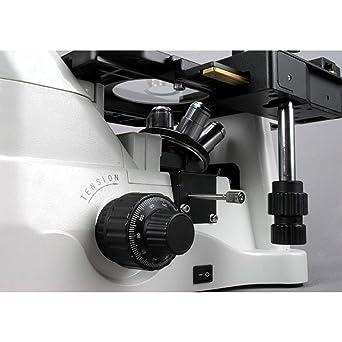 AmScope in480ta-fl 40 x 900 x fase contraste invertido microscopio ...