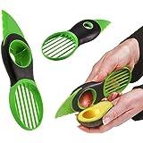 035215 Taglia e affetta avocado 3 in 1 con lama snocciolatore e affettatrice. MEDIA WAVE store ®