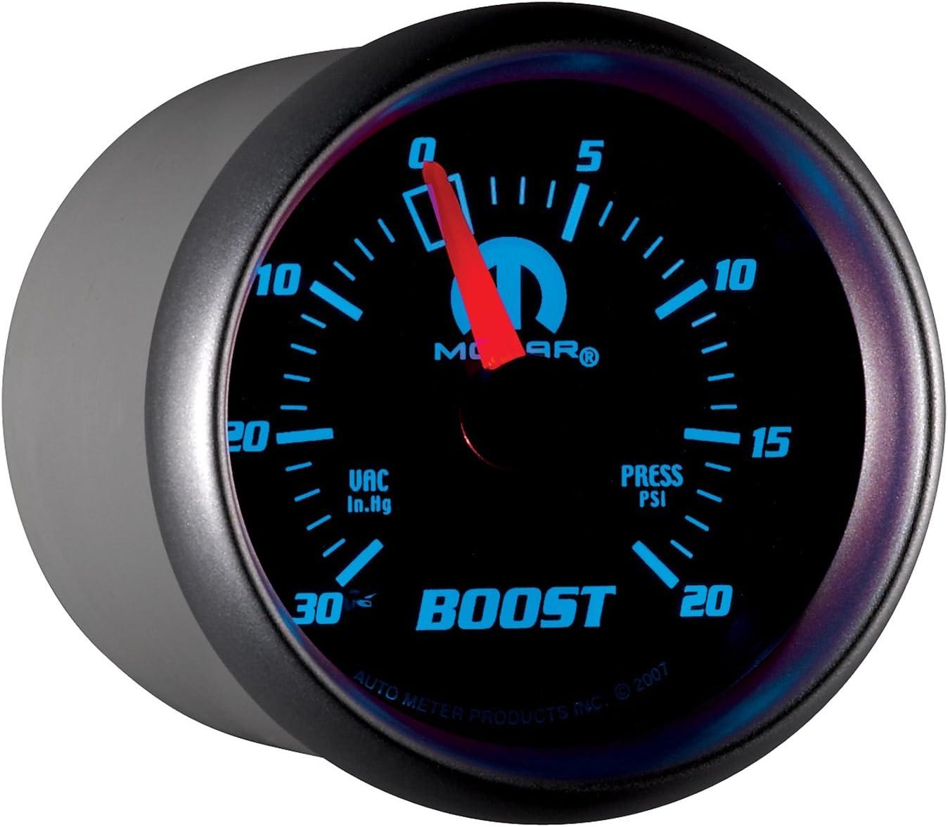 Auto Meter 880012 Mopar Mechanical Boost//Vacuum Gauge