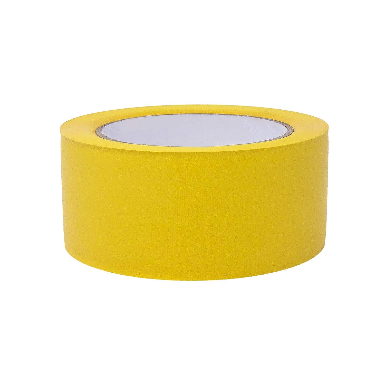 4 Rollen - 50 mm breit - gelb gerippt versch Maler-Schutzband in Profi-Qualit/ät L/änge: 33 m Farben /& Breiten gws Putzband PVC gerippt ⭐ Abklebeband von Hand rei/ßbar