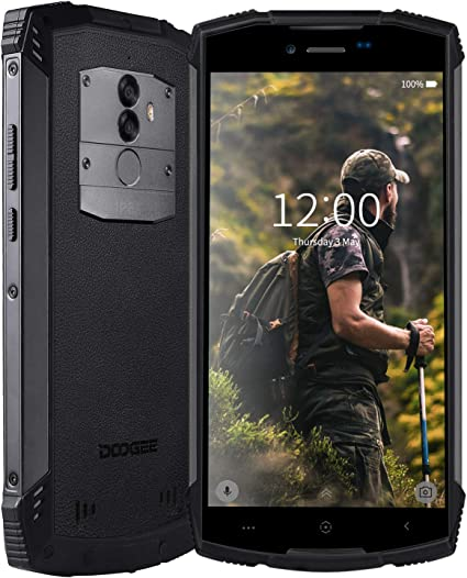 DOOGEE S55 Telefono Movil Libres 4G IP68 Impermeable Antipolvo ...