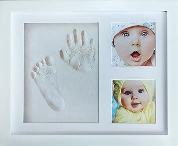 Amazoncom My Mini Moe Newborn Baby Handprint Kit Footprint