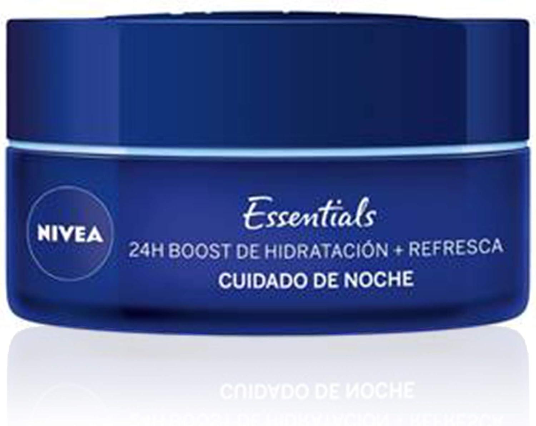 NIVEA Cuidado de Noche Regenerador, crema hidratante de cuidado ...