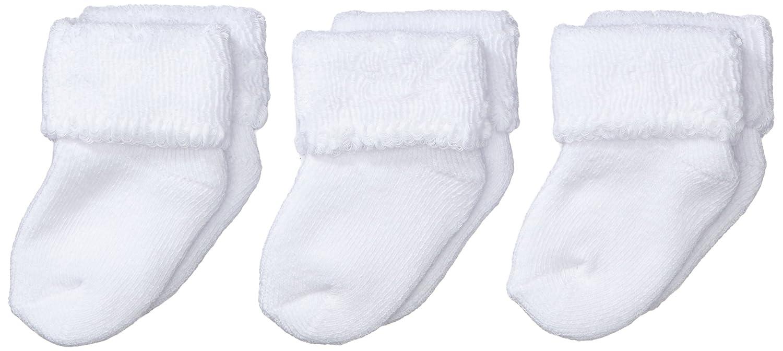 Sterntaler Unisex Baby Socken Erstlingssöckchen, 3er Pack Alter: ab 0 Monate Ecru 8201400
