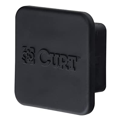 CURT 22277 Rubber Trailer Hitch Cover Fits 2-1/2-Inch Receiver: Automotive