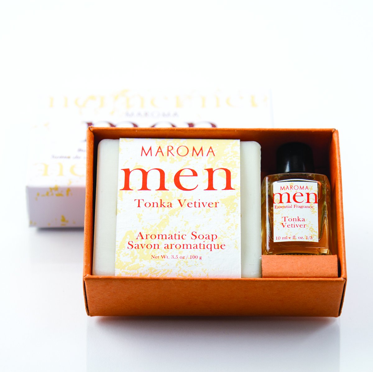 Maroma Tonka Vetiver Men Gift Set