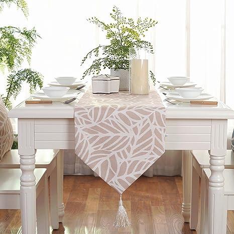 Amazon.com: DHSNJKL Table Runner/Dining Room Table Runner ...