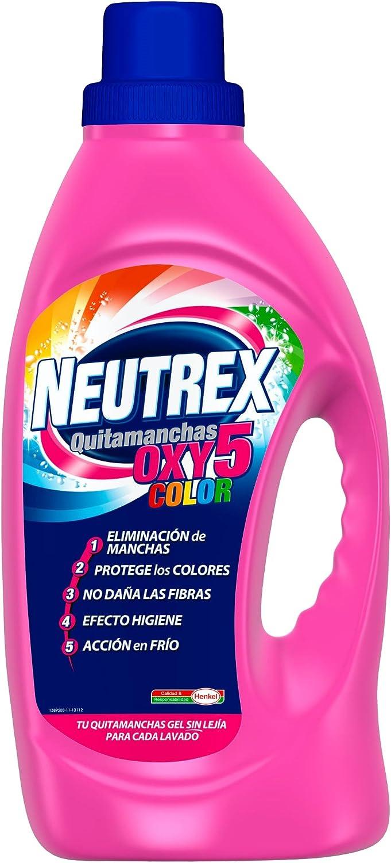 Neutrex oxy 5 color - Detergente 1700 ml, 1 unidad: Amazon.es ...