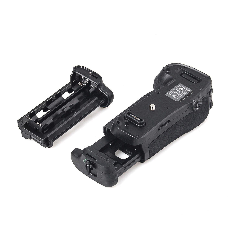 Meike MK-D750 Battery Grip Pack Replacement MB-D16 Holder compatible with EN-EL15 Battery for Nikon D750 DSLR