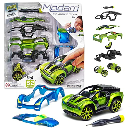 Amazon Com Modarri Delux S2 Muscle Car Build Your Car Kit Toy Set