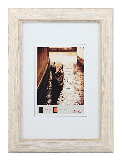 Holz Bilderrahmen Vintage Rahmen Toskana Shabby Poster Foto größen Puzzle cm