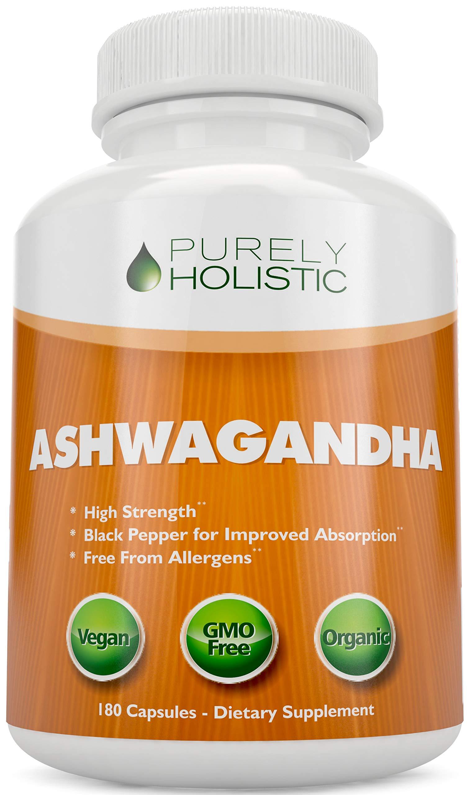 Amazon.com: Premium Ashwagandha Capsules 1100mg | All