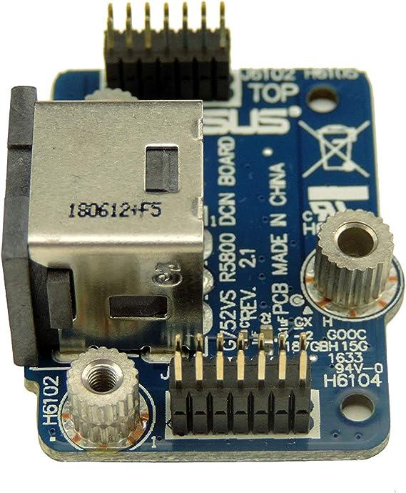 DC In Power Jack Board for ASUS G752VS-XB72K G752VS Replacement 69N108E11F00