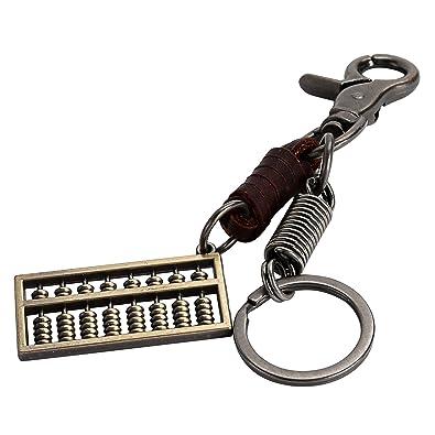 Amazon.com  Daesar Silver Plated Keychain for Men and Women Keychain ... 0ba94eeb0