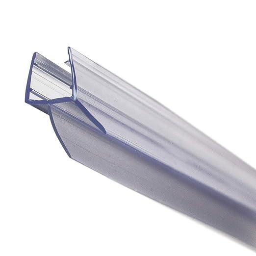 KANWA - 100cm Duschdichtung Transparent für die Duschkabine 6 mm, 7 mm, 8 mm Glasdicke der Duschtür, Duschleiste - Ersatzdich