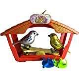 Digibirds Electric Music Sing Solo or Choir Interactive Gold Silver Bird Limited Version 2pcs Set