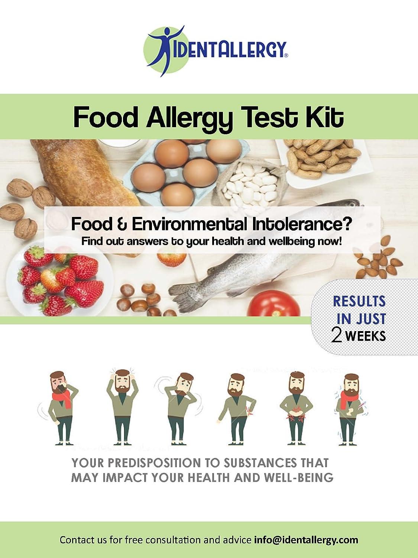 Amazon com: IdentAllergy - Nutrition Genetic Test + Food