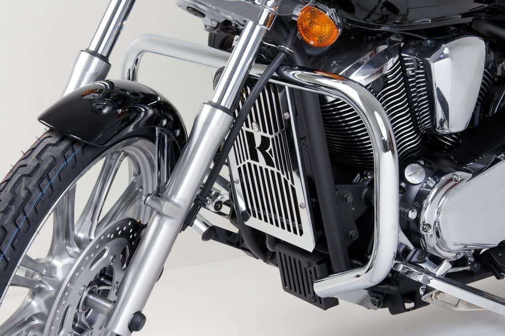 Poliert Edelstahl Customacces Engine Guards DG0010J f/ür Kawasaki VN900 Classic 06-17