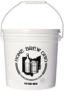Home Brew Ohio FBA_Does Not Apply 2 Gallon Party Bucket Dispenser, 2 Gallons, White