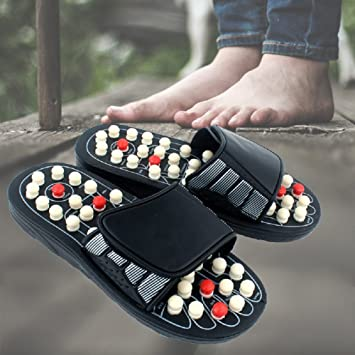 65be65731fdea Amazon.com: Acupoint Massage Slippers Sandal for Men Feet Chinese ...