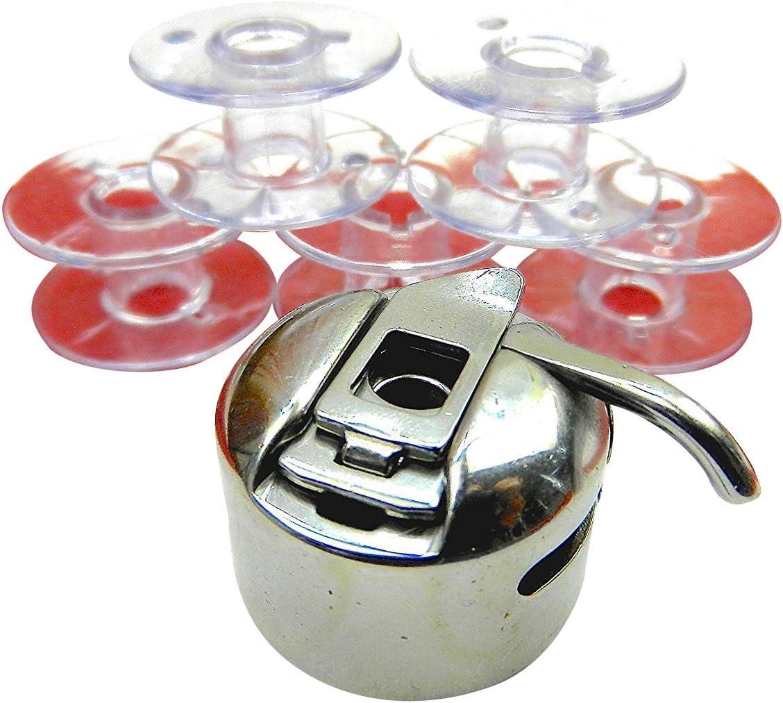 Lifetec Capsule de bobine bobines en plastique transparent pour machines /à coudre Lifetec couleurs color/ées