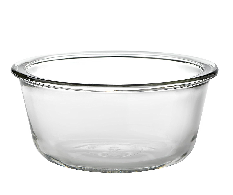 Anchor Hocking Glass Prep Bowls Custard Cups, 10 Ounce, Set of 4