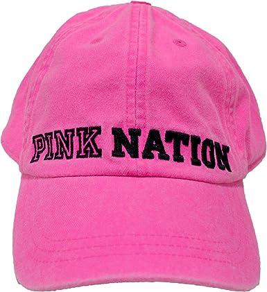 Pink by Victorias Secret, Gorra de béisbol para Mujer, Fucsia ...