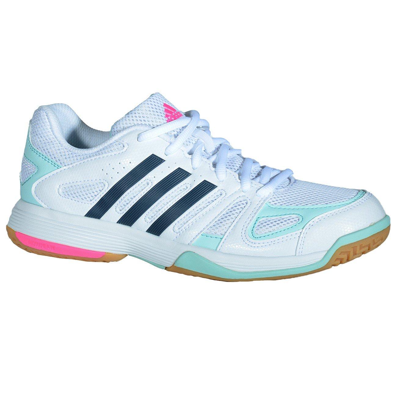 save off bd1ab 3866a Adidas Handball Speedcourt 7 Damen Ftwwhtboonixfromin, Größe Adidas7.5  Amazon.de Sport  Freizeit
