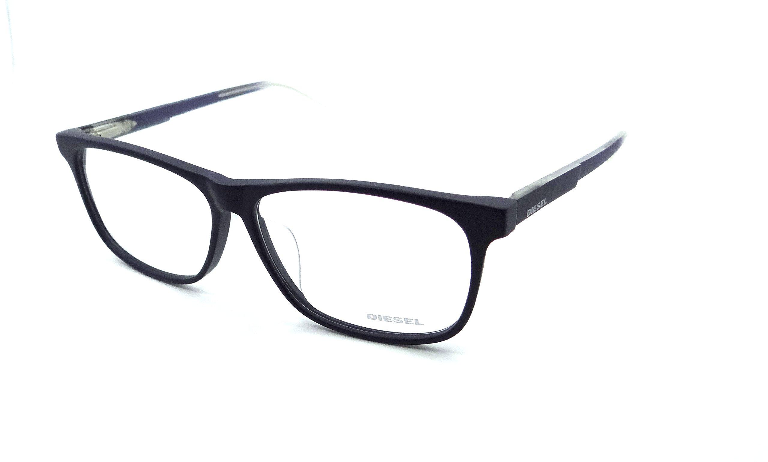 Diesel Rx Eyeglasses Frames DL5159-F 091 59-13-150 Matte Dark Blue Asian Fit