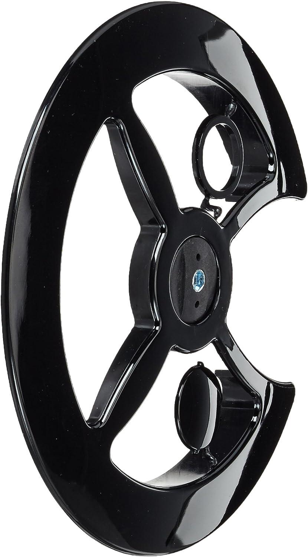 Point - Cubrecadenas (fijación Universal, PVC) Negro Negro Talla ...