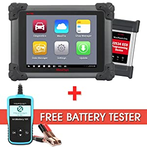 Autel Maxisys Pro MS908P Automotive Diagnostic Scanner With ECU Coding and J2534 Reprogramming
