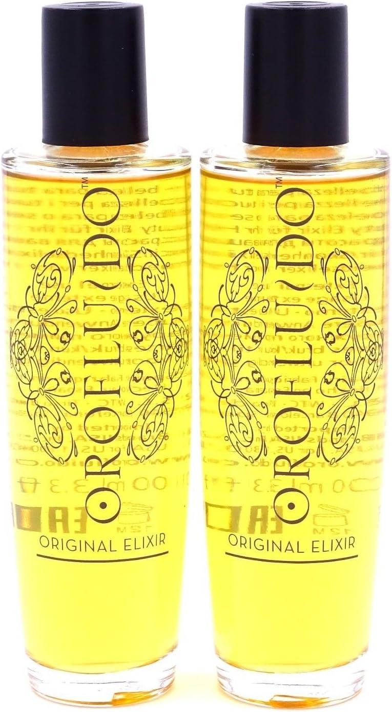 Revlon Orofluido 100 ml Beauty Elixir 2 Piece Set by Revlon.: Amazon.es: Belleza