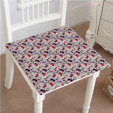 Amazon.com: Mikihome - Cojín para silla de exterior, diseño ...
