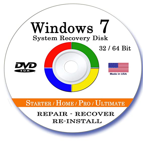 upgrade to 64 bit windows 7 without disc