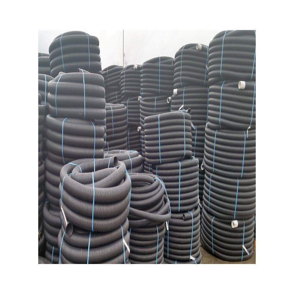 Your Diy Shop Perforated pipe coil for tree planting drainage 80mm X  25metre land drain