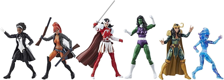 Marvel Legends a de Force Heroines Exclusive Action Figure de 6 ...