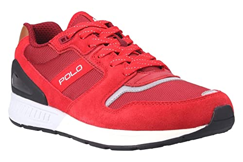 Zapatilla RALPH LAUREN 809-669838-004 TRIAN100 46 Rojo: Amazon.es ...