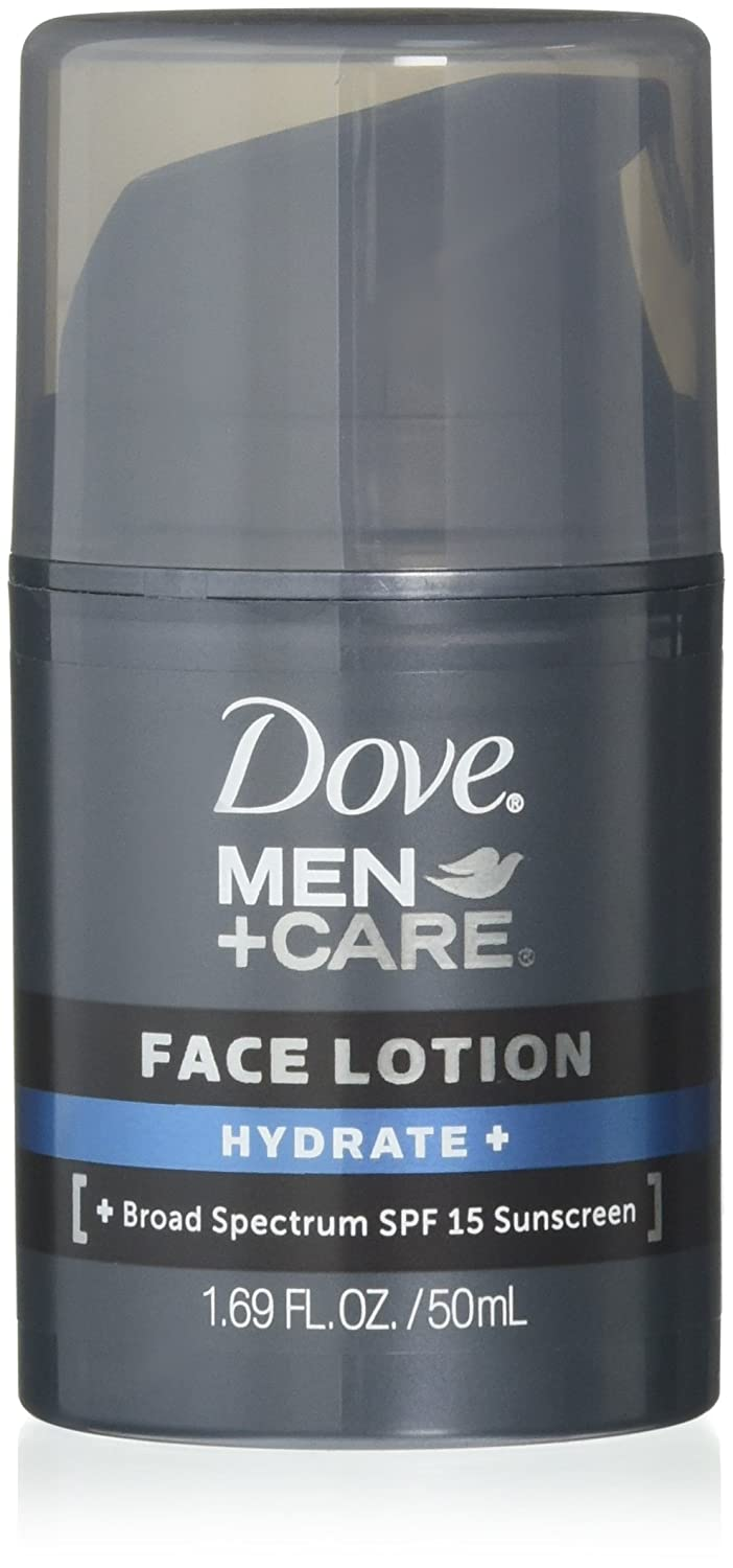 Dove Men + Care Face Lotion Hydrate + 1.69 OZ - Buy Packs and SAVE (Pack of 3)