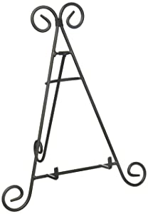 "Home Decor 6555-02 12"" Decorative Easel Black"