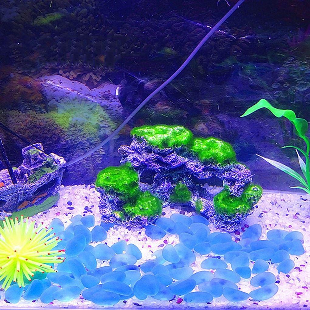 Bomcomi Vert Gris Aquarium R/ésine Corail Corail Roche Imitation Mousse Ornement Fish Tank d/écoratif