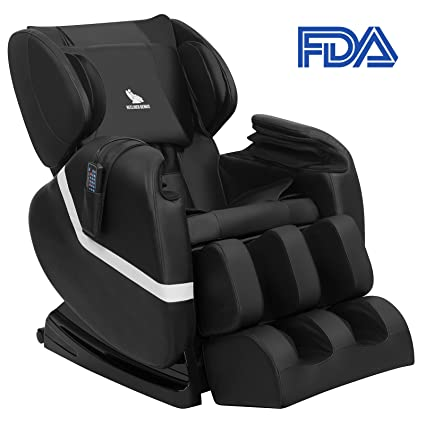 Perfect Mecor Full Body Massage Chair Zero Gravity Shiatsu Heated Massager Recliner  With Stretched Foot Rest,